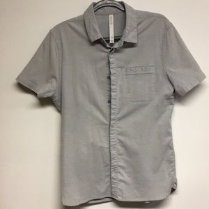 Lululemon short sleeve button up